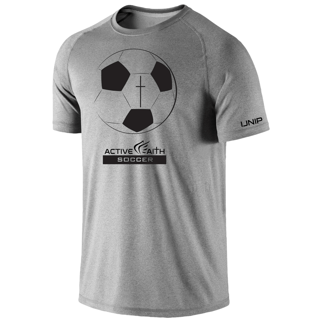 Youth Active Faith Soccer Performance Shirt