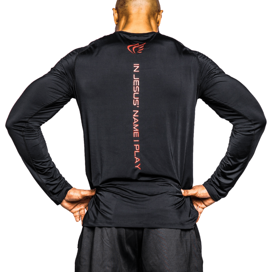 Men's Longsleeve Logo Performance Shirt