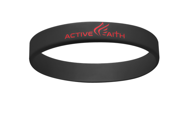 Active Faith IJNIP Band Black/Red
