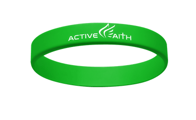 Active Faith IJNIP Band Green/White