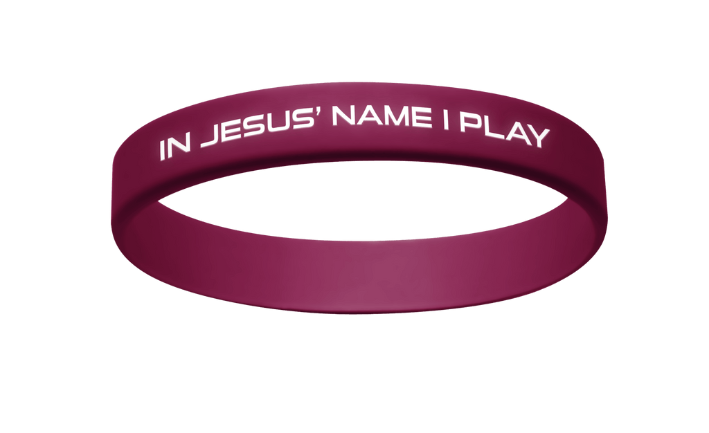 Active Faith IJNIP Band Maroon/White