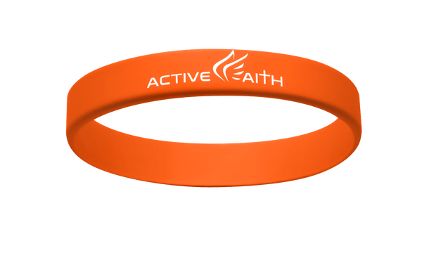 Active Faith IJNIP Band Orange/White