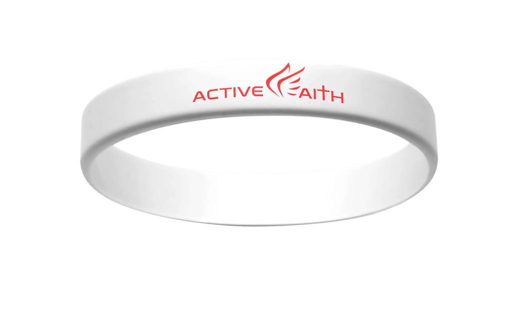 Active Faith IJNIP Band White/Red
