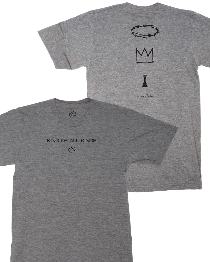 King of All Kings Text Lifestyle Tee
