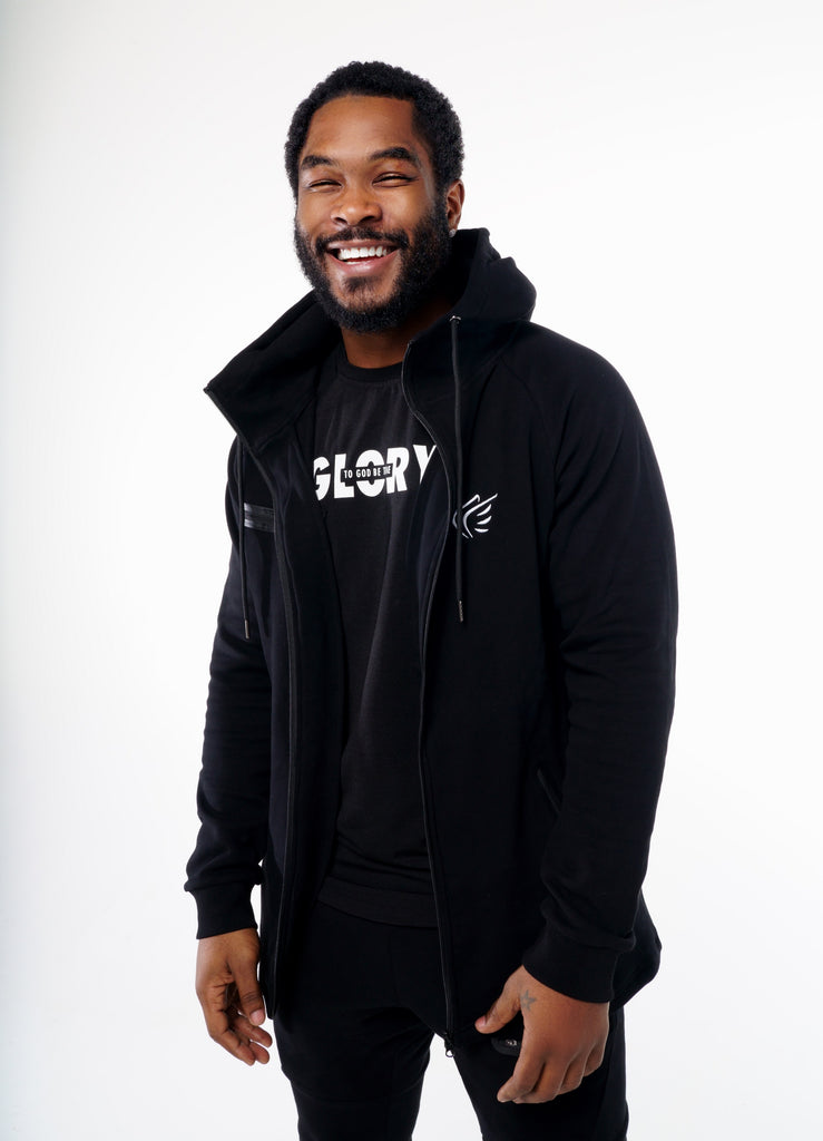 Men's To God Be The Glory Performance Fleece Hoodie