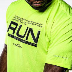 Men's Run And Not Grow Weary EasyDri Shirt