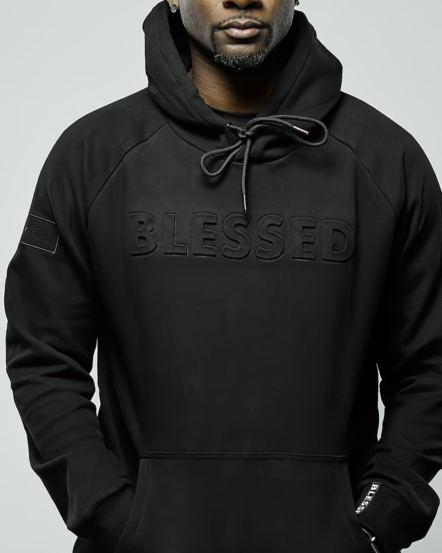 Men's 3D Blessed Premium Fleece Hoodie