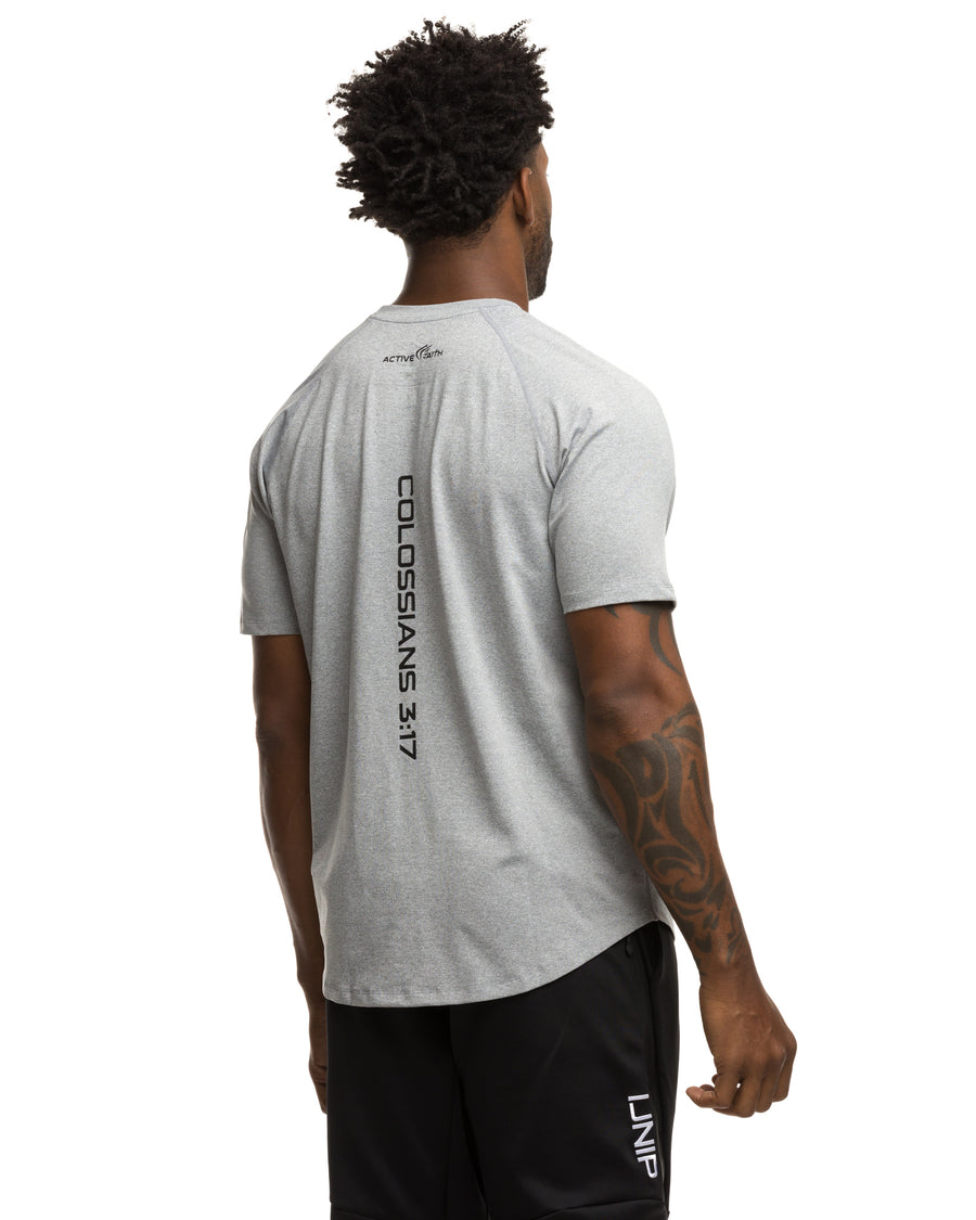 Men's Active Faith Lifestyle Mesh Shirt