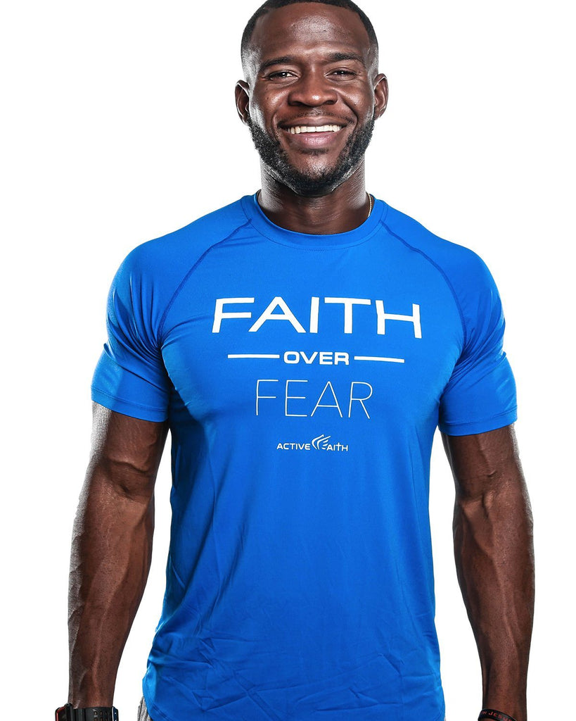 Men's Faith Over Fear Performance Shirt