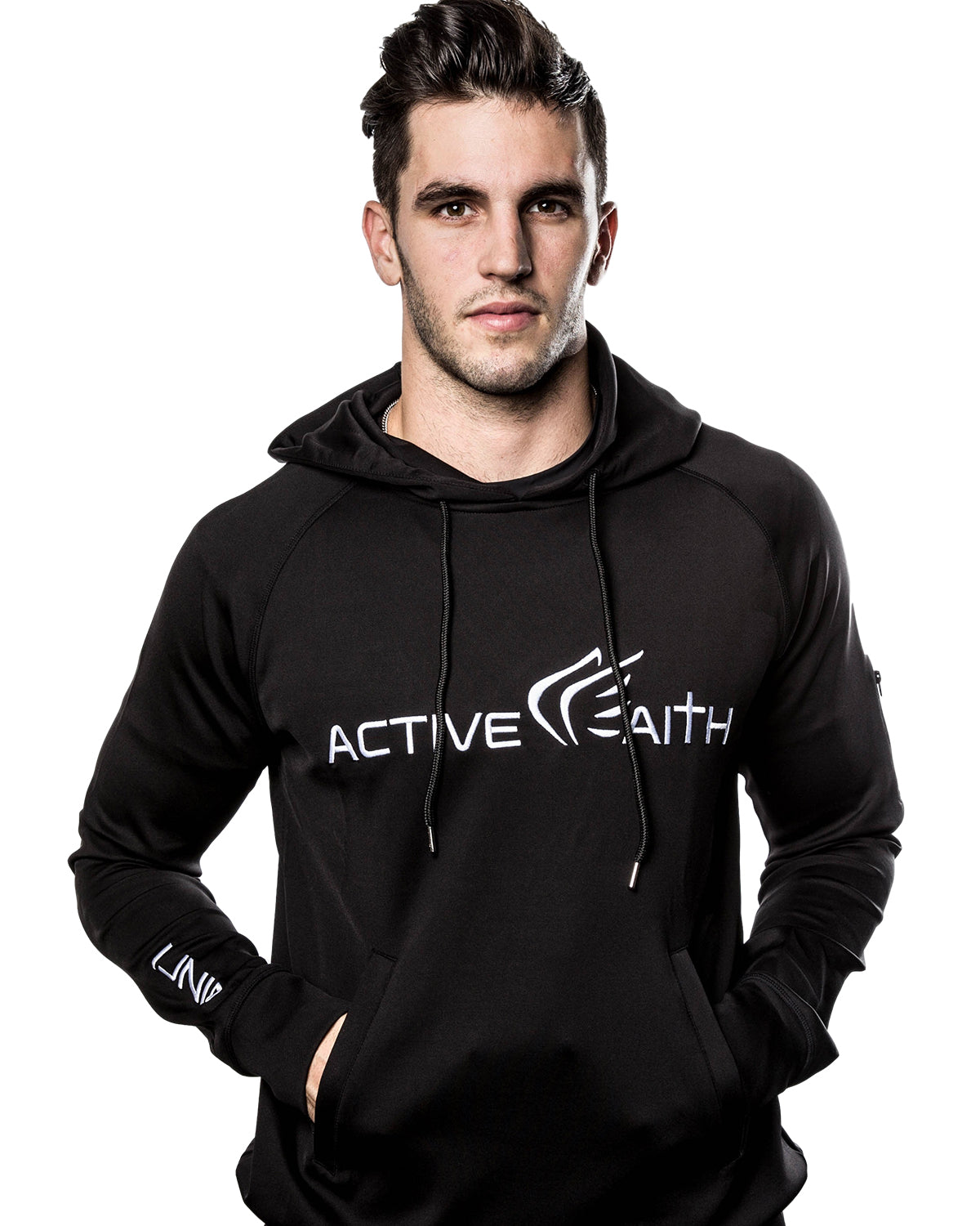 Active Faith Logo Performance Hoodie