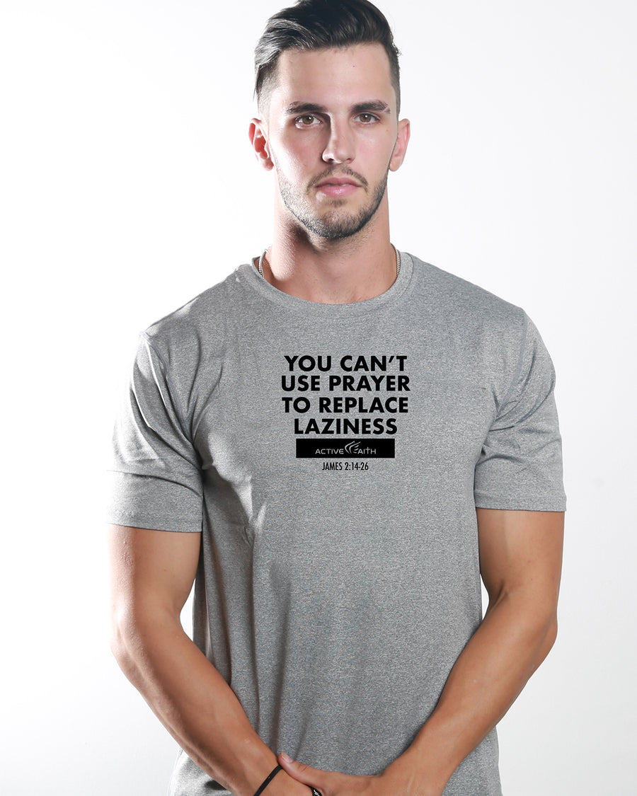 Men's Active Faith No Laziness Performance T-Shirt