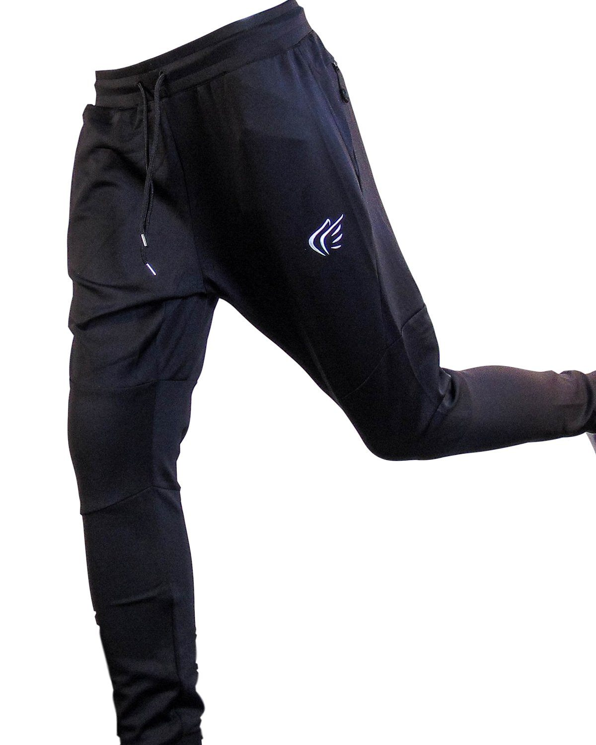 Mens Active Faith PERFORMANCE JOGGERS in Charcoal White Color