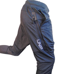Mens IJNIP PERFORMANCE JOGGERS  in Charcoal White Color