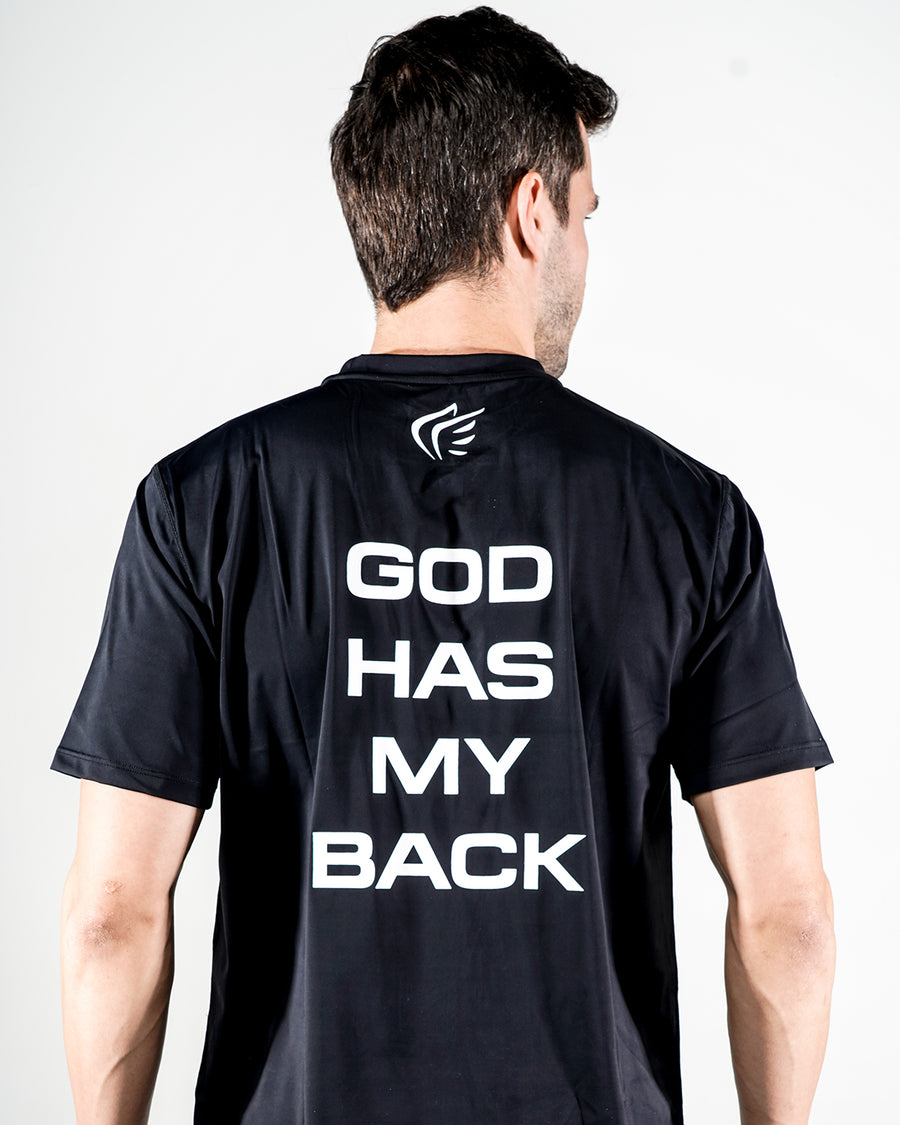 Men's God Has My Back Performance Shirt