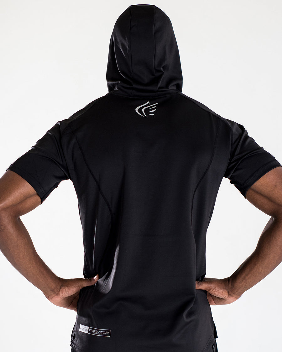 Men's Blessed Performance Tech Short Sleeve Hoodie