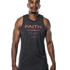 Men's Faith Over Fear Performance Tank