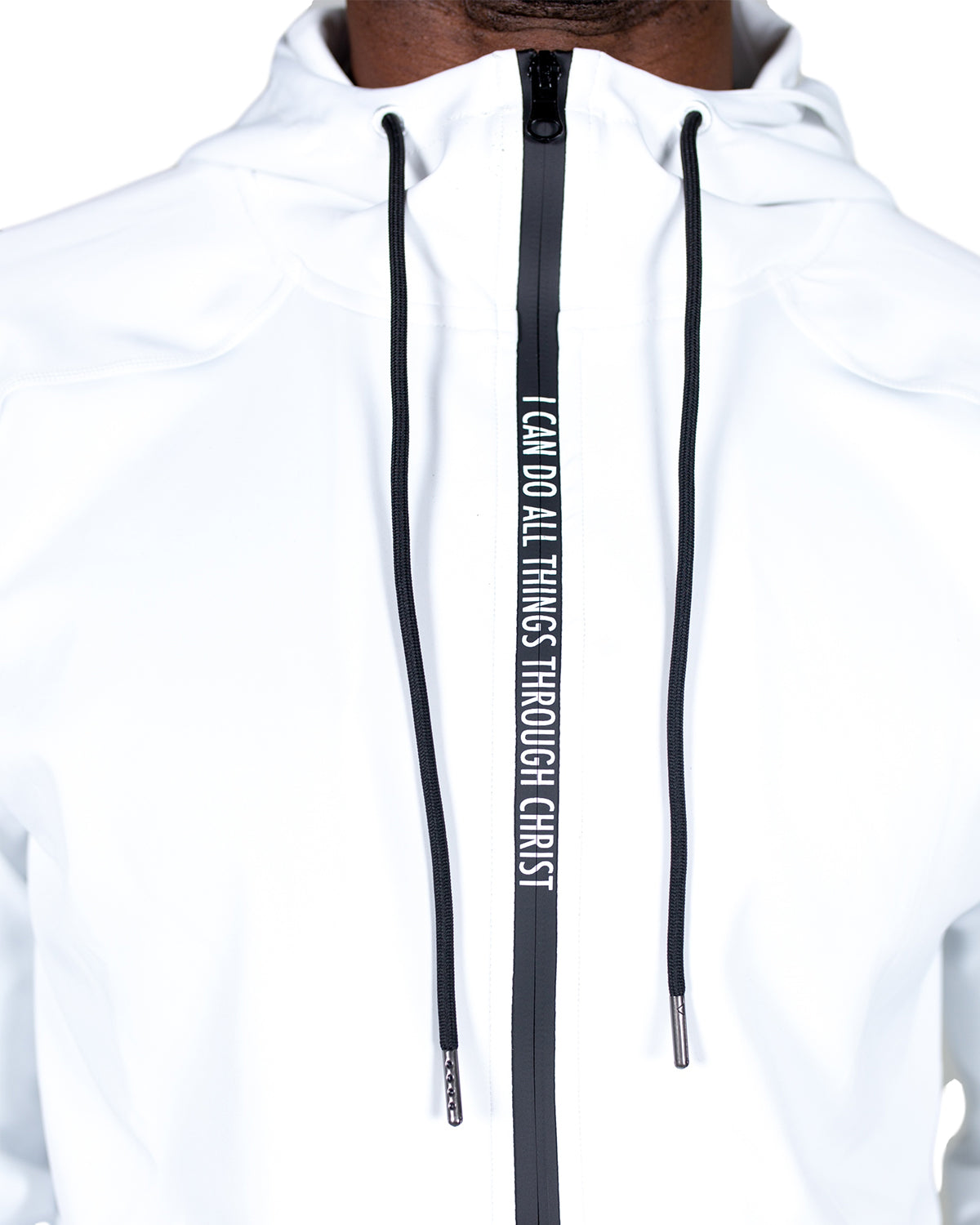 Men's I Can Do All Things Zipper Hoodie