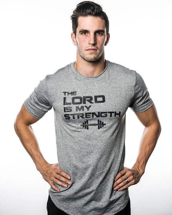 Men's Lord Is My Strength Performance Shirt