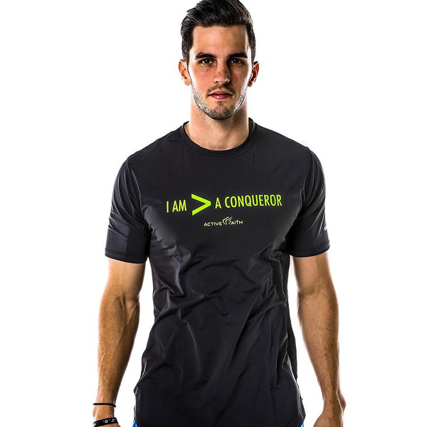 Men's More Than A Conqueror Statement Shirt