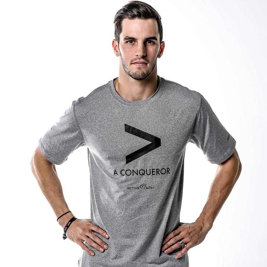 Men's More Than A Conqueror Symbol Shirt