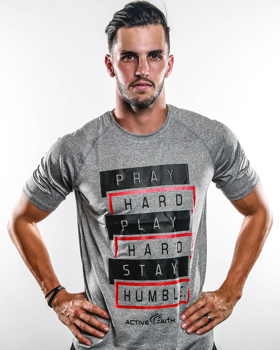 Men's Stay Humble Performance Shirt