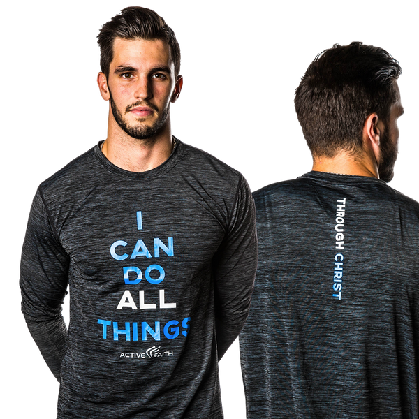 Men's I Can Longsleeve Shirt
