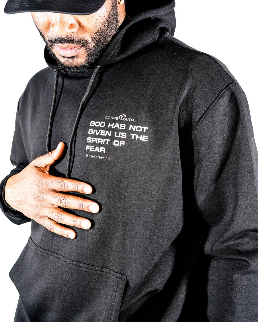 Unisex No Spirit of Fear Hoodie