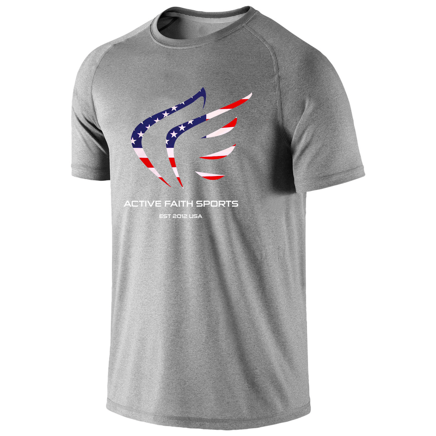 Youth Girls USA Wings Performance Shirt