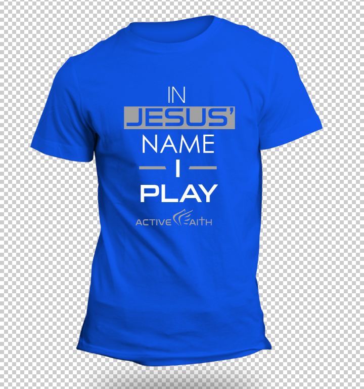 Youth Boys In Jesus' Name I Play Performance Shirt