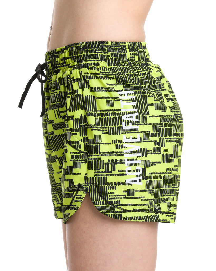 Women's Digital Print Running Shorts