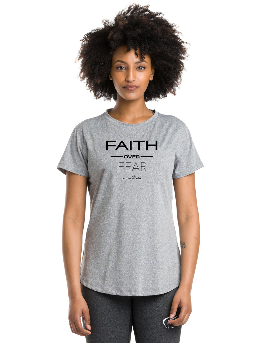 Women's Faith Over Fear Performance Shirt