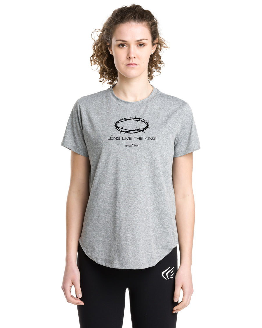 Women's Long Live The King Performance Shirt