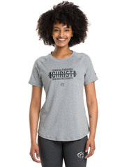 Women's I Can Weight Lifting Performance Shirt