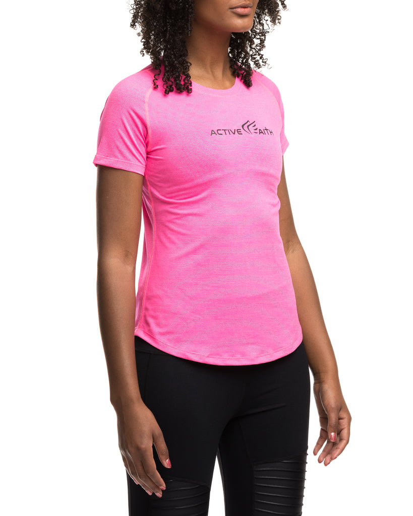 Buy Online Logo Performance Shirt for Women - Active Faith Sports