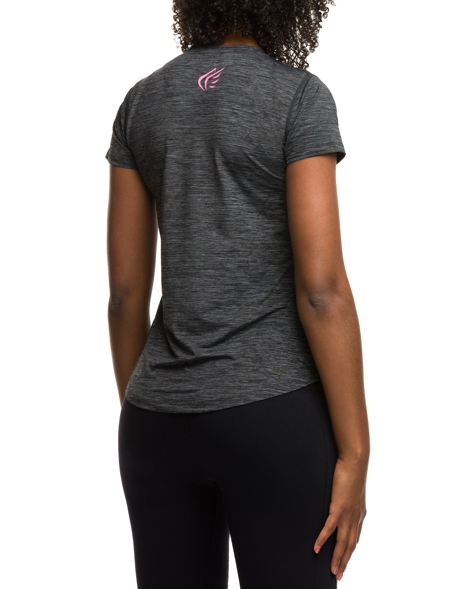 Women's Performance T-Shirt Buy Online, Charcoal Pink - Active Faith Sports