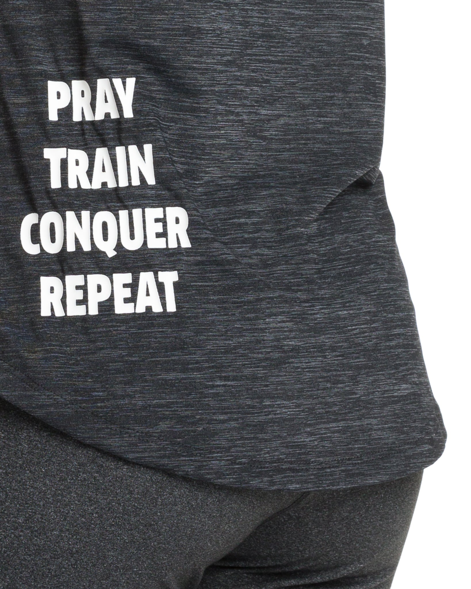 "Women's ""Pray Repeat"" Symbol Shirt"