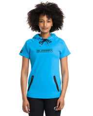Women's Blessed Performance Tech Short Sleeve Hoodie