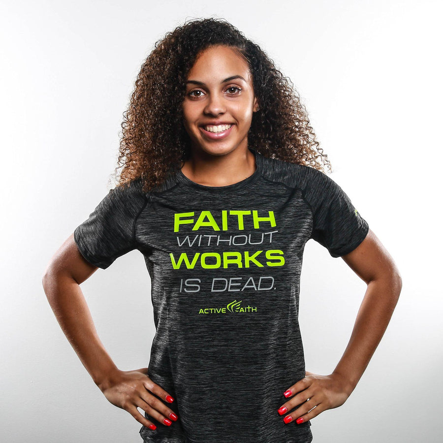 Women's Faith Without Works Performance Shirt