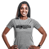 Women's Christian T-Shirt, Grey/Black - Active Faith Sports