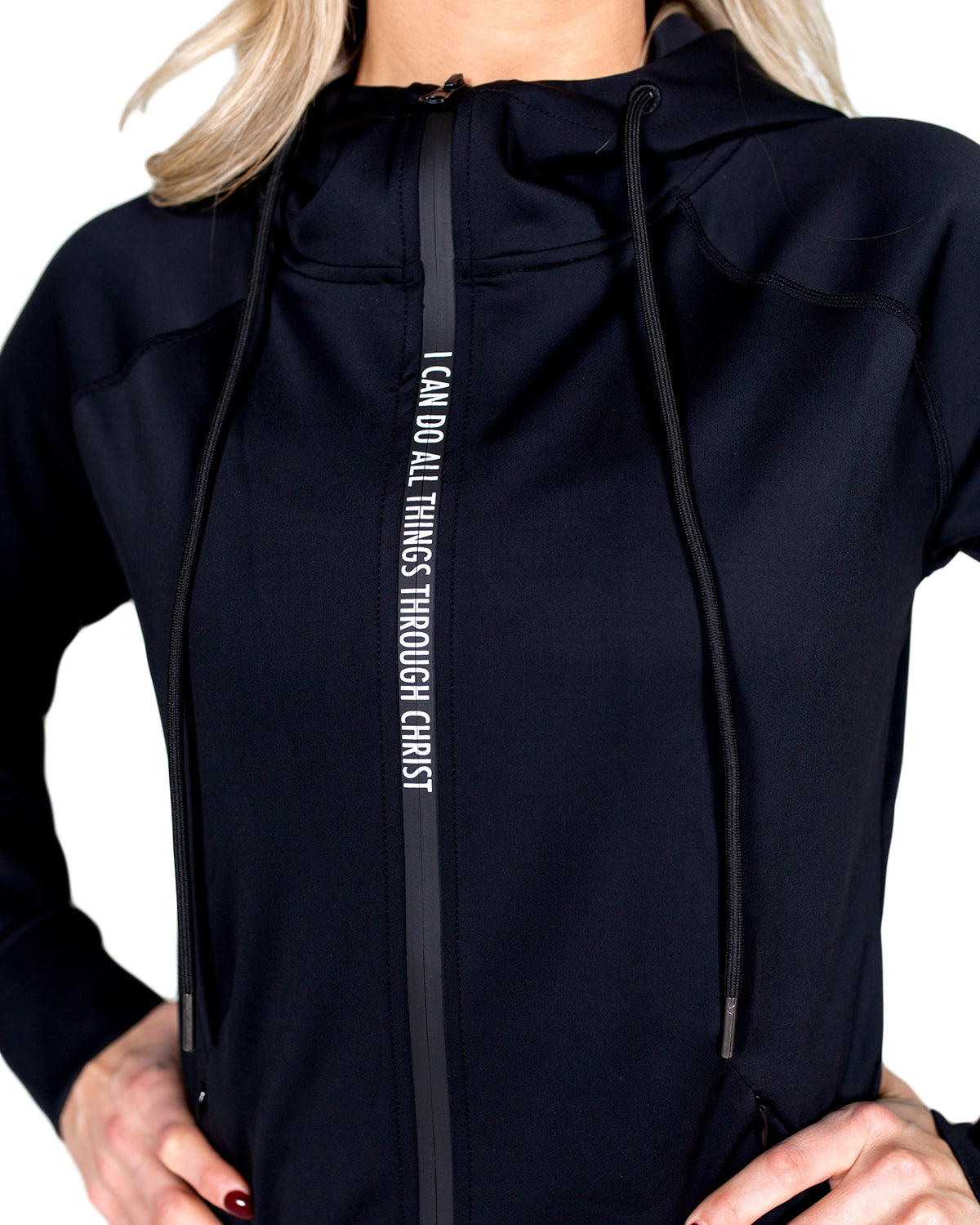 Women's I Can Do All Things Zipper Hoodie