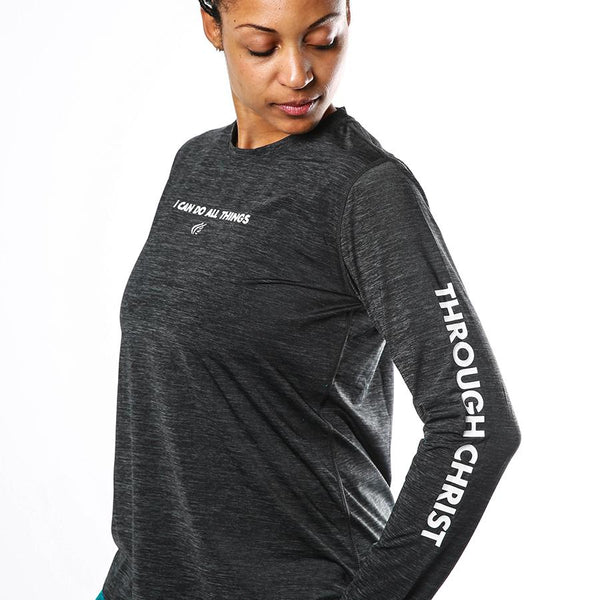 Women's Through Christ Longsleeve Performance Shirt