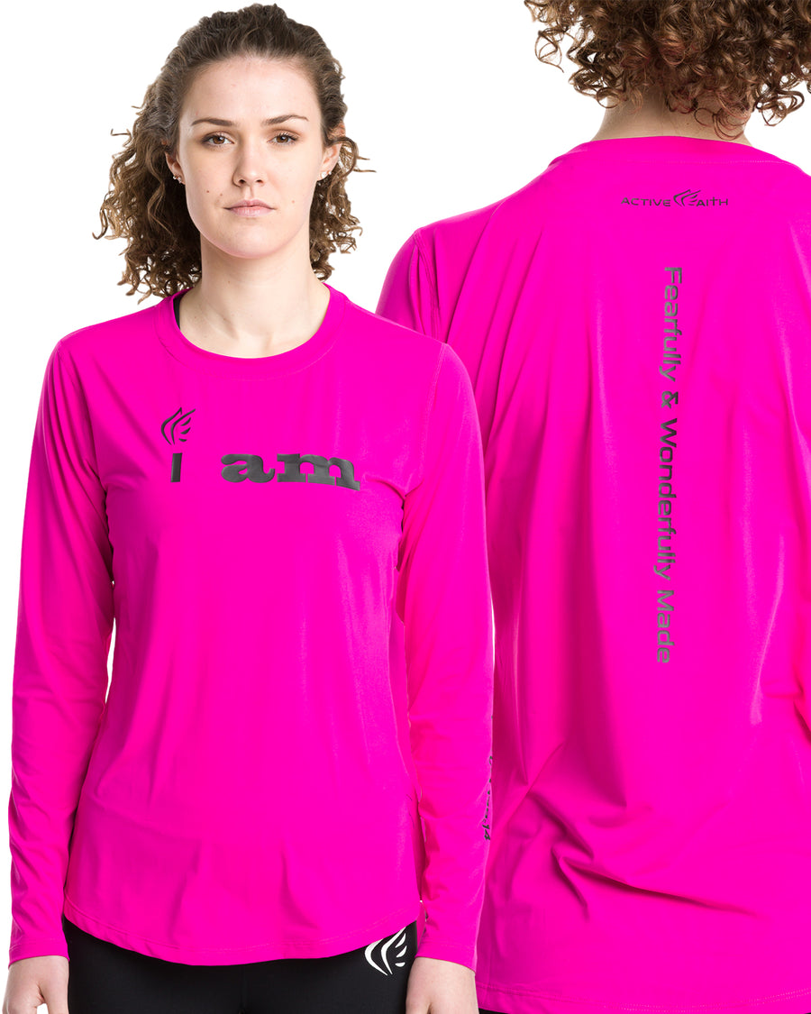 Women Longsleeve Shirt - Active Faith Sports