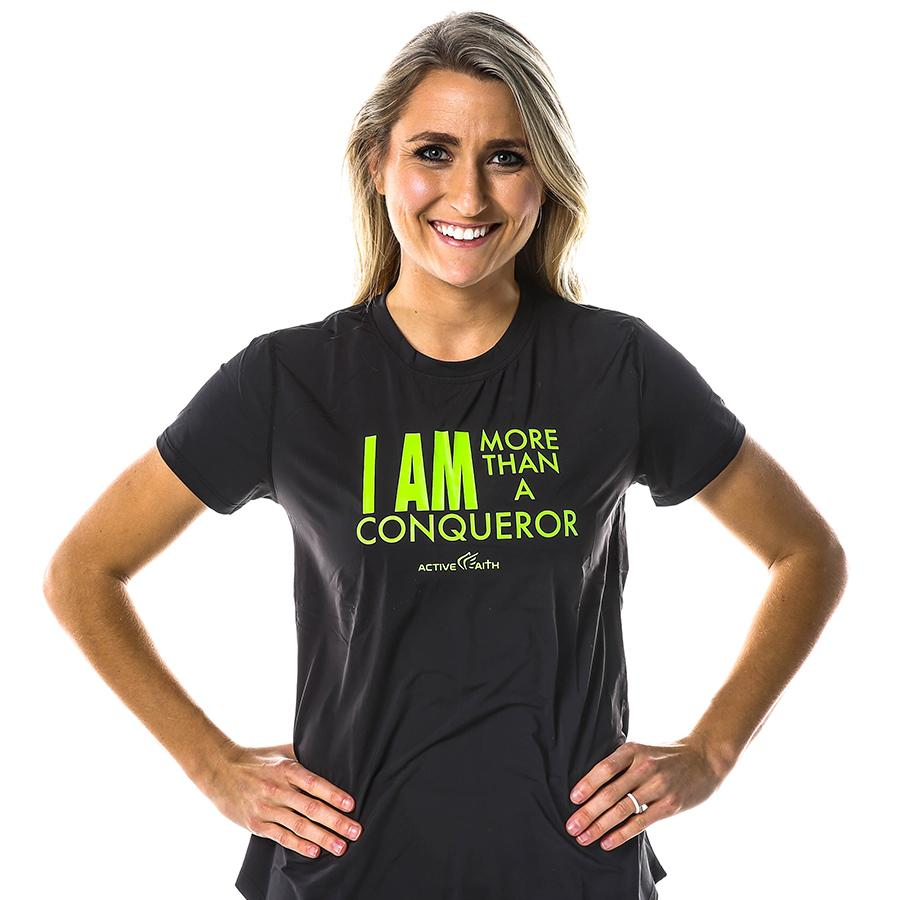 Women's More Than A Conqueror Shirt