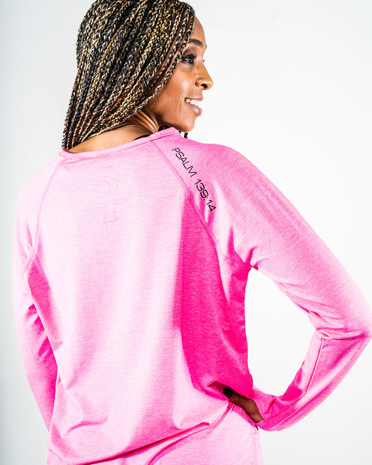 Women's Longsleeve Psalm 139:14 Performance Shirt