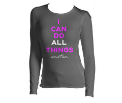 Youth Girl's I Can Longsleeve Shirt