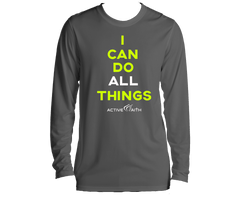 Youth I Can Longsleeve Shirt