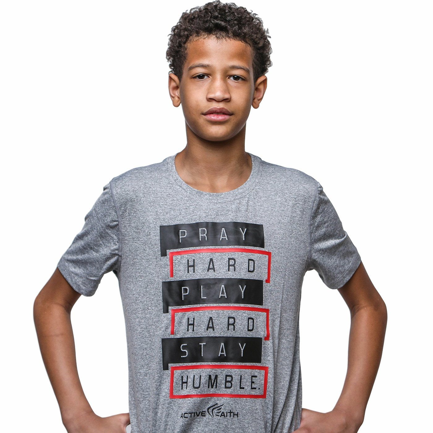 Youth Stay Humble Performance Shirt