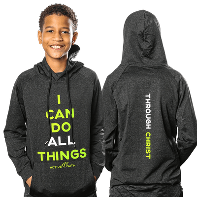 Youth I Can Performance Hoodie