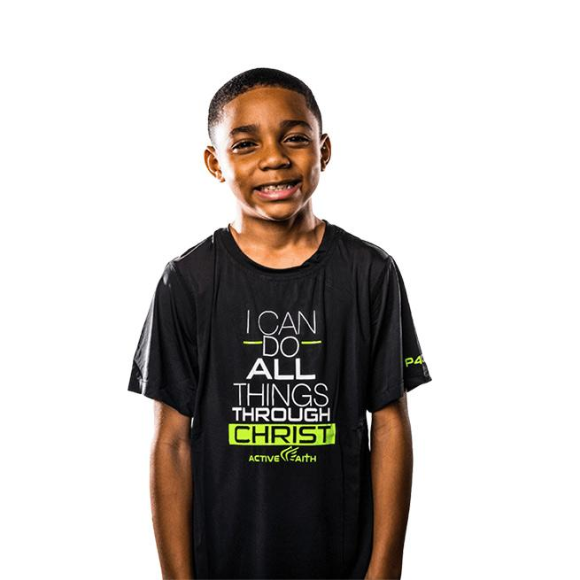 Youth Boys I Can Bold EasyDri Shirt