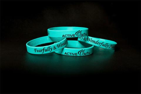 Active Faith FWM Band Teal/Black